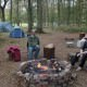 wild camping site